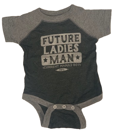 Farm Boy Future Ladies Man Onesie
