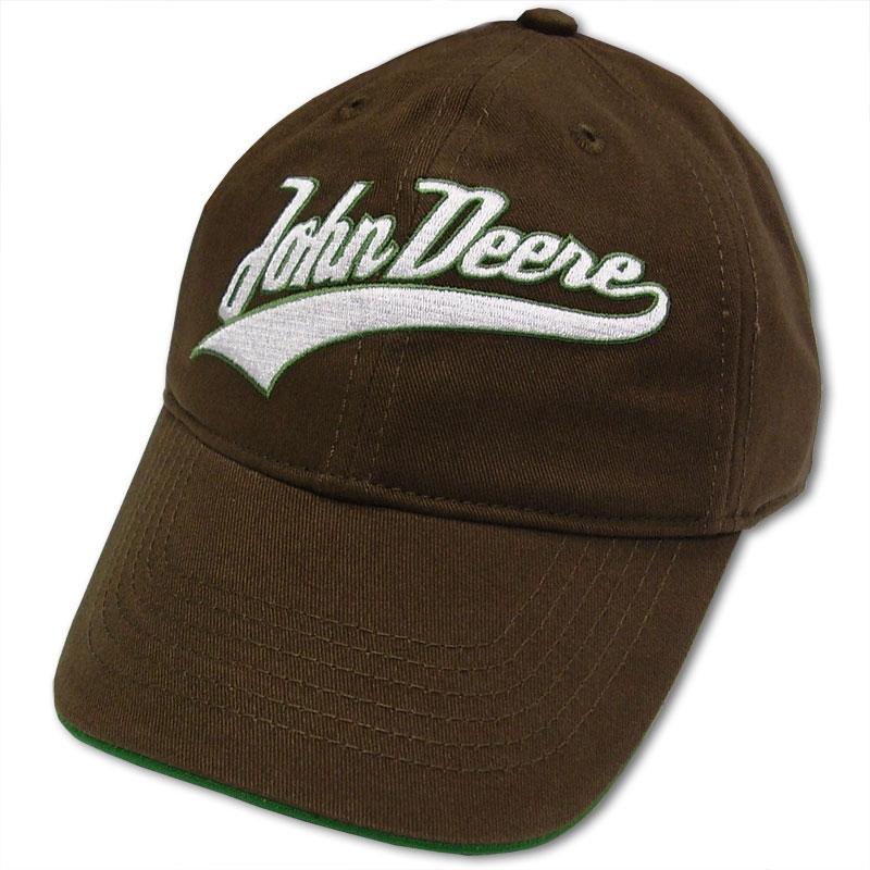 John Deere Script Tail Baseball Cap