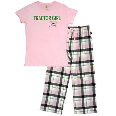 John Deere Tractor Girl Pajamas