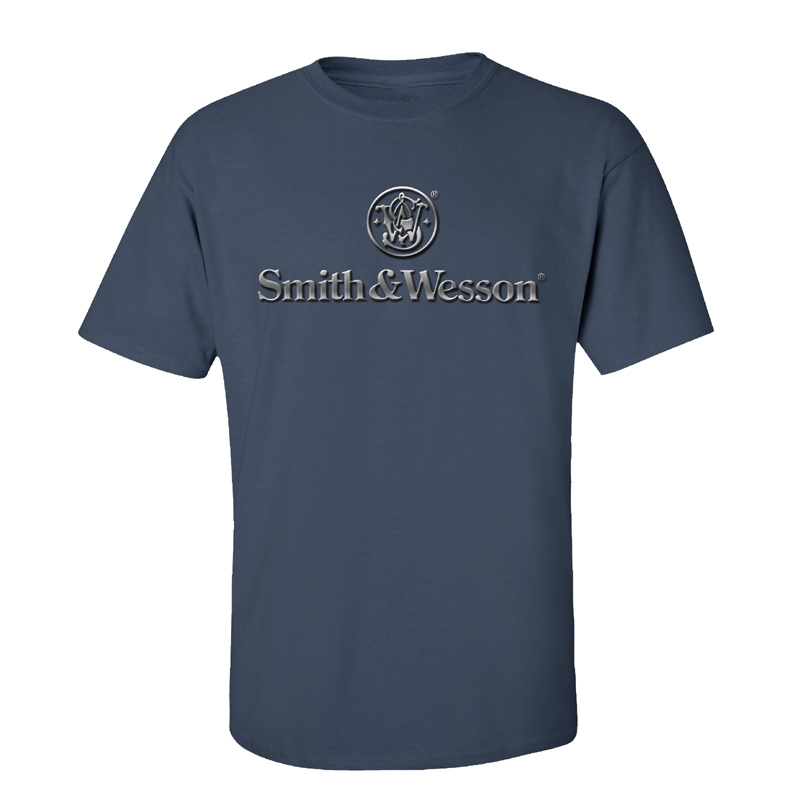 Smith & Wesson Chrome Logo T-Shirt