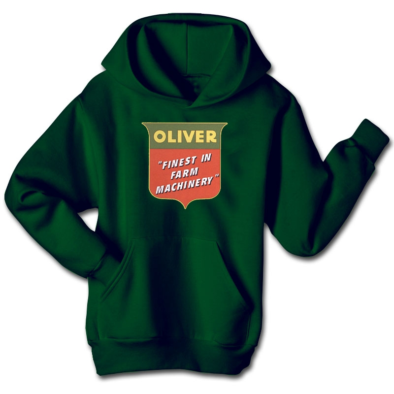 Oliver Children's Finest in Farm Machinery Hoodie
