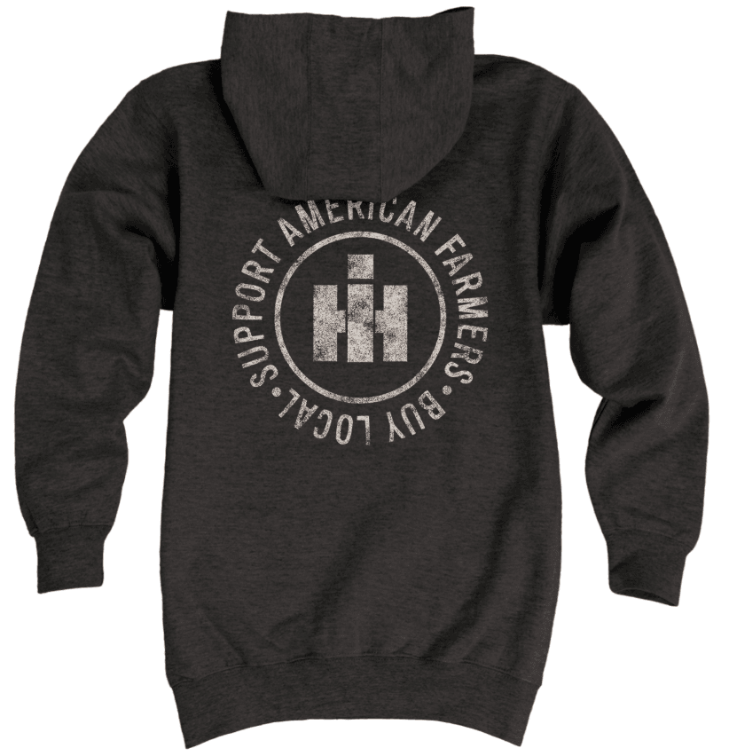 IH Support Local Farmers Zip Hoodie