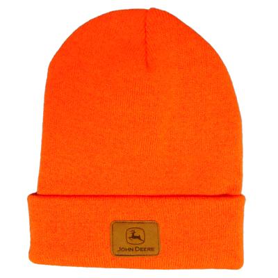 John Deere Rolled Winter Hat