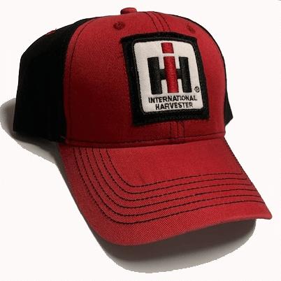 IH Red & Black Logo Baseball Cap