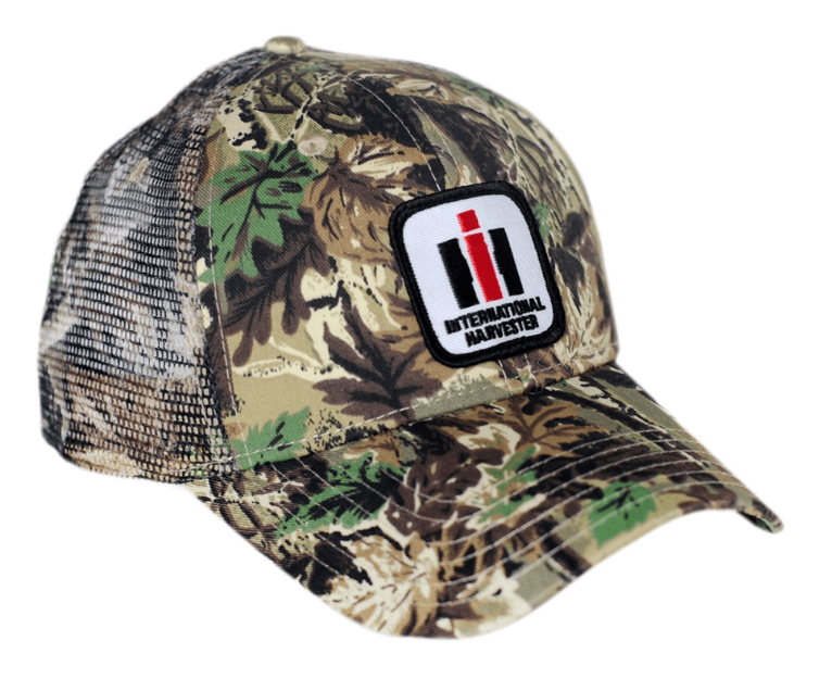 International Harvester Camo Logo Mesh Baseball Cap