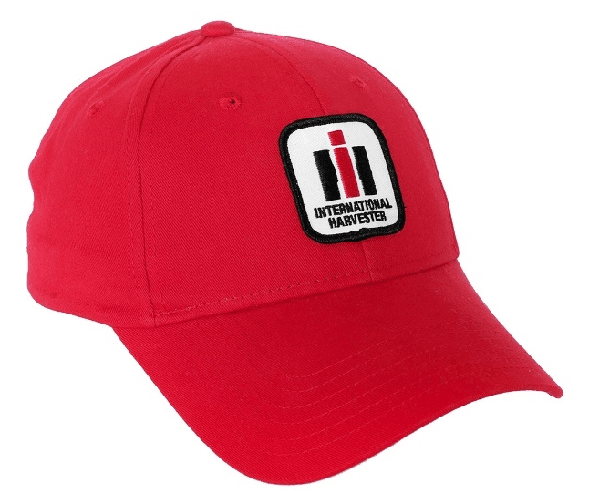 International Harvester Red Logo Baseball Cap