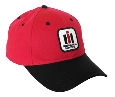 International Harvester Red and Black Logo Baseball Cap