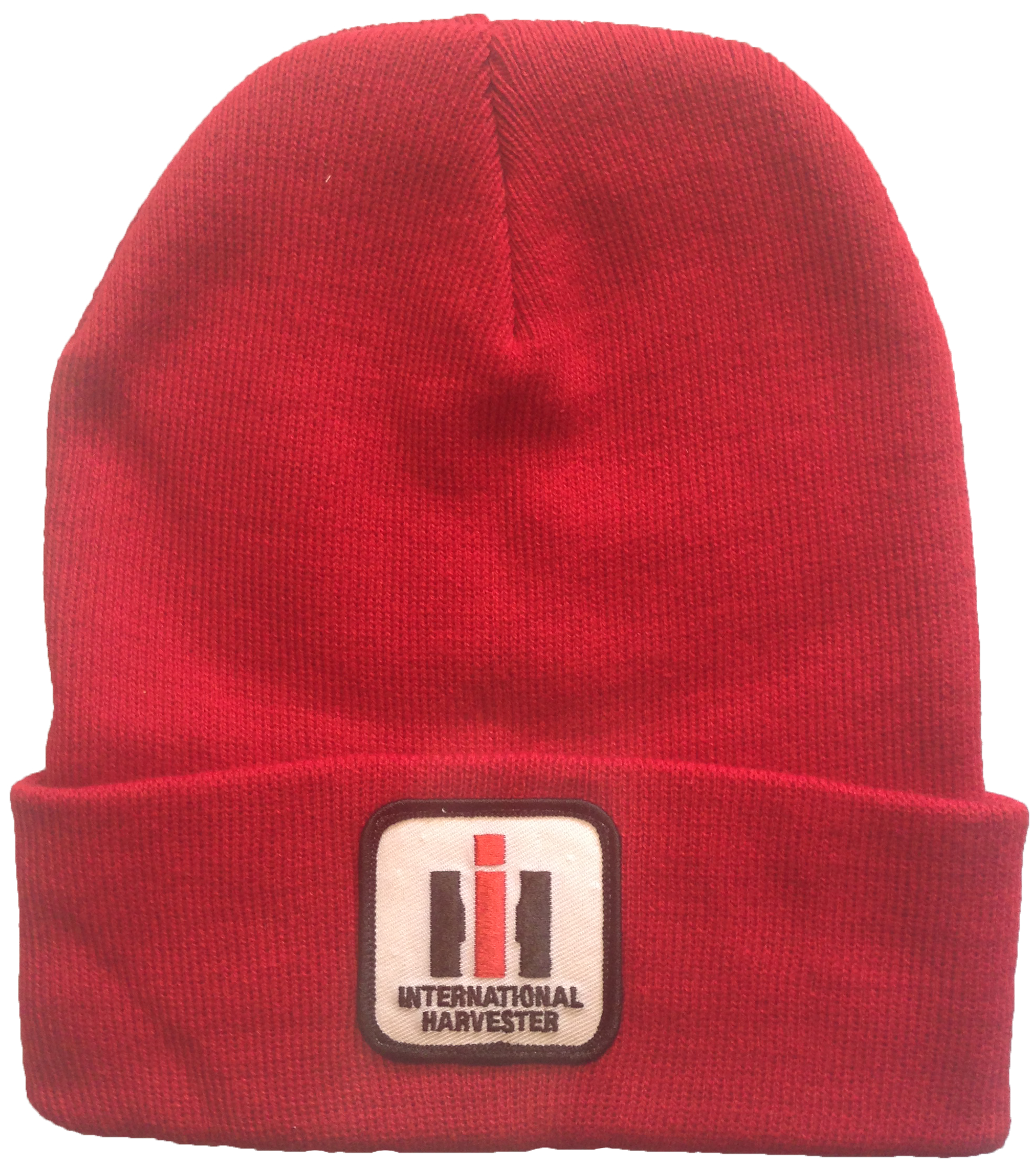 International Harvester Red Knit Logo Hat