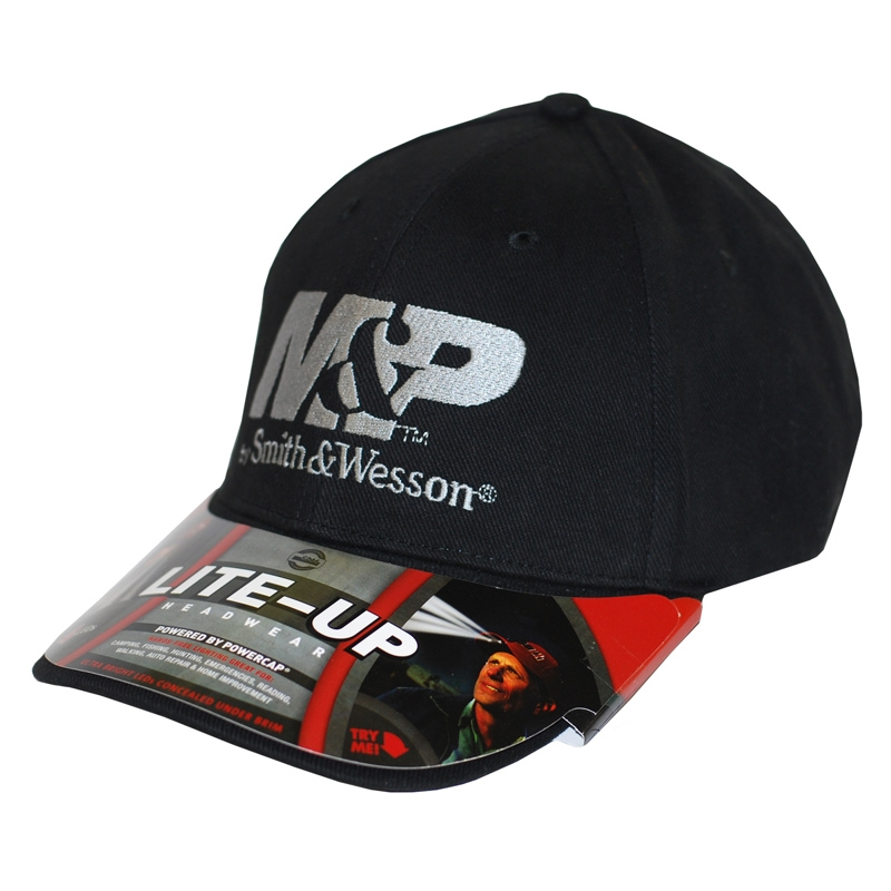 Smith & Wesson M&P Lite Up Logo Cap