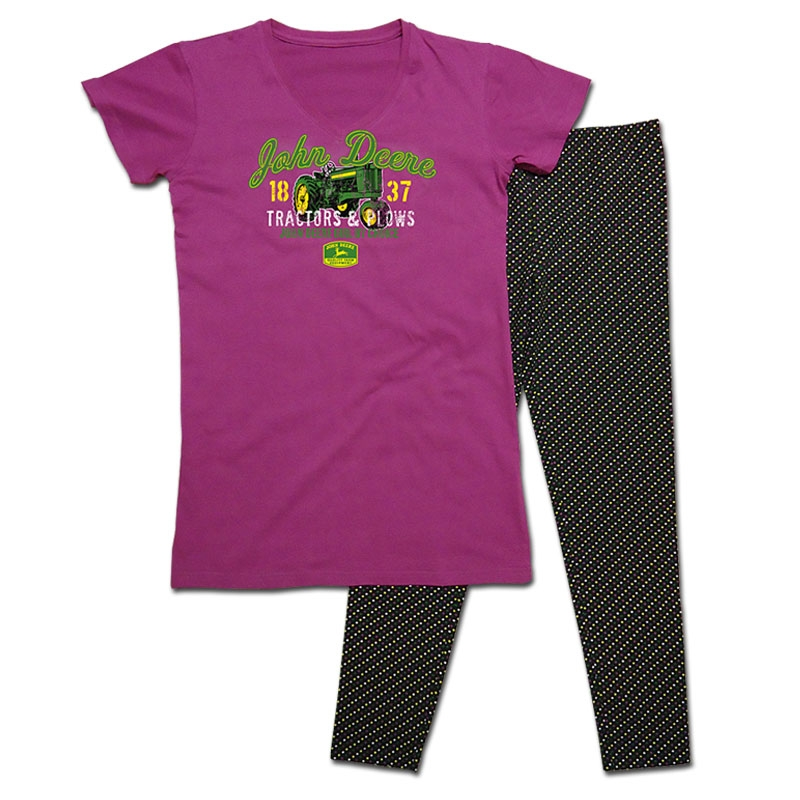 John Deere JD Girl By Choice Pajamas