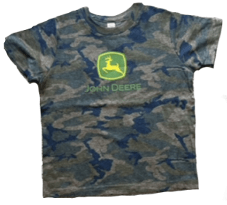John Deere Kid's Camo Logo T-Shirt