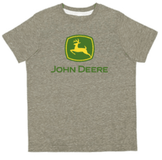 John Deere Children's Olive Green T-Shirt