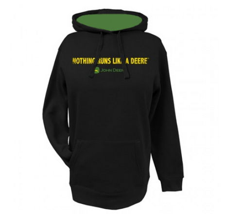 JOHN DEERE NOTHING RUNS LIKE A DEERE HOODIE