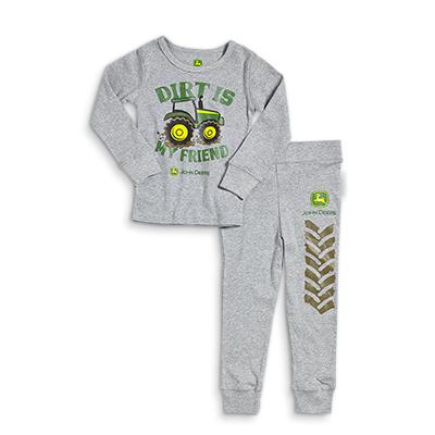 John Deere Dirt Is My Friend Pajamas
