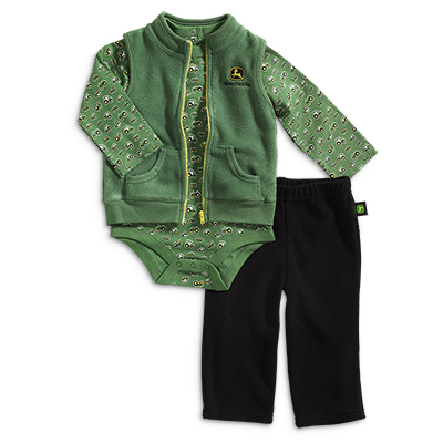 John Deere 3 Piece Set