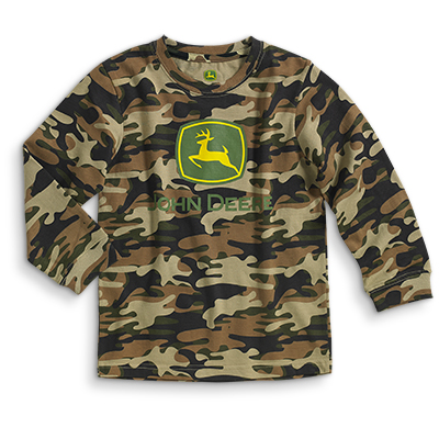 John Deere Logo Long Sleeve T-Shirt