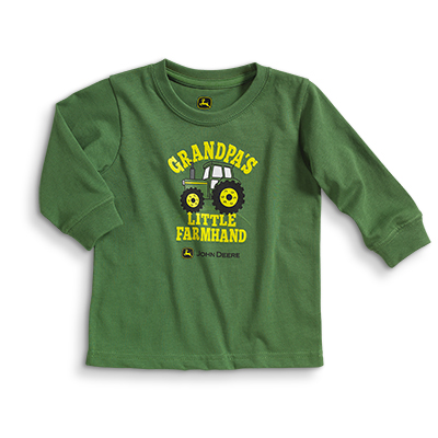 John Deere Grandpa's Little Farm Hand Long Sleeve T-Shirt
