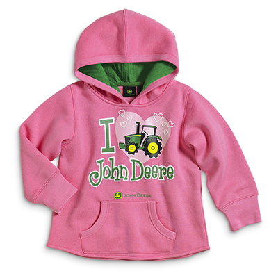 John Deere I Heart JD Hoodie