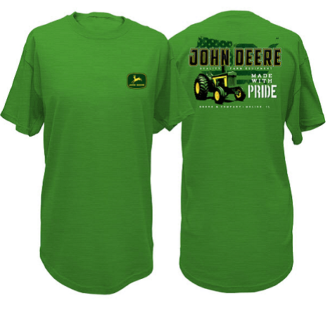 John Deere Made With Pride T-Shirt