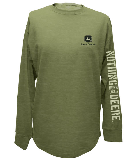 John Deere Nothing Runs Like A Deere Long Sleeve T-Shirt