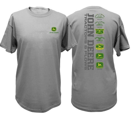 John Deere Vintage Logos T-Shirt