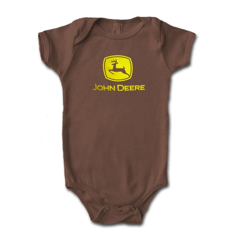 John Deere Logo Onesie