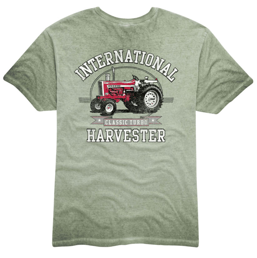 IH Classic Oil wash T-Shirt
