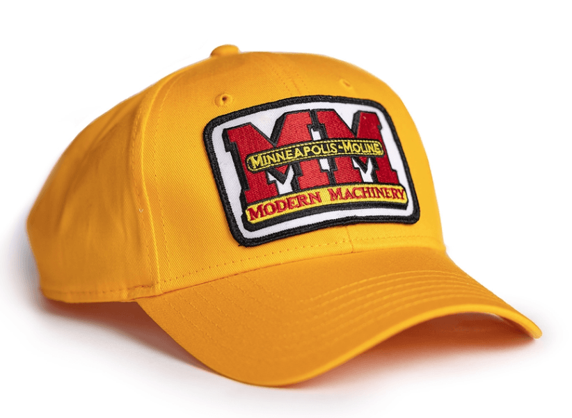 Minneapolis Moline Gold Logo Cap