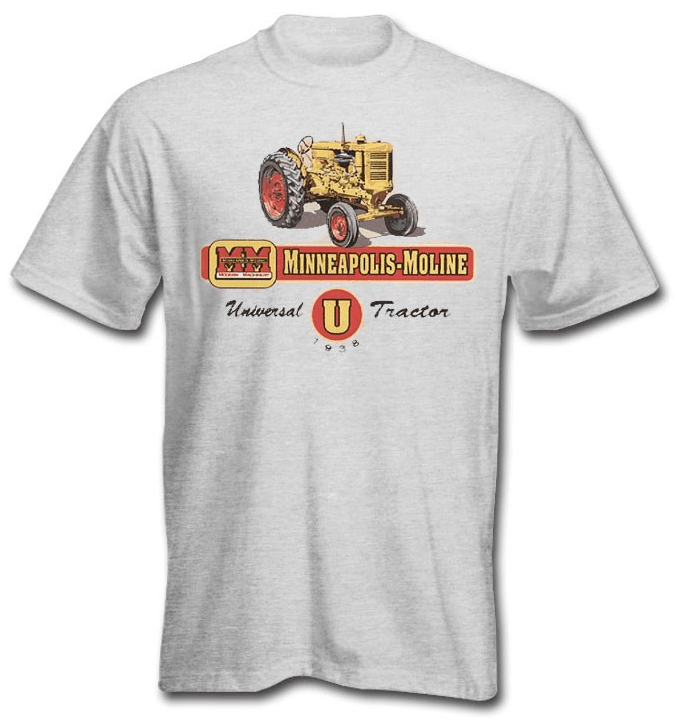 DAMAGED Minneapolis Moline U T-Shirt