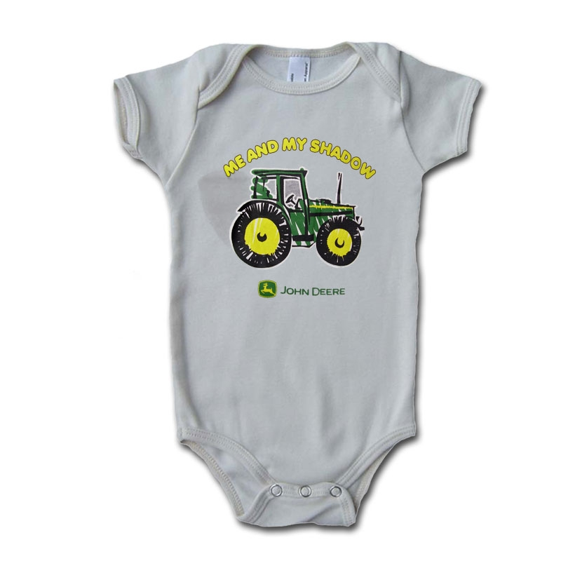 John Deere Me and My Shadow Onesie