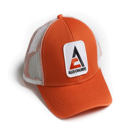 Allis Chalmers Orange with Mesh Cap