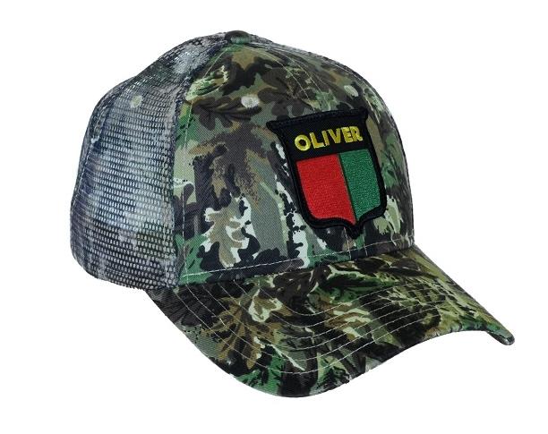 Oliver Camouflage Hat - Vintage Logo