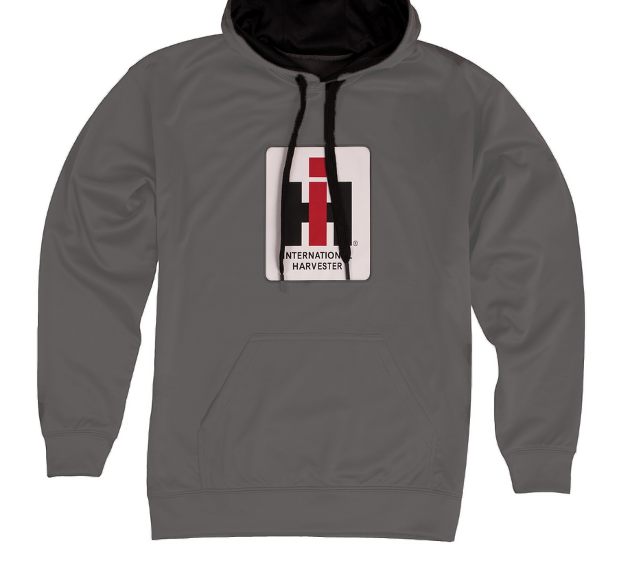 DAMAGED Men's International Harvester Logo Performance Pullover Hoodie