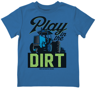 Farm Boy Play In The Dirt T-Shirt