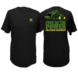 John Deere Pour On The Power T-Shirt
