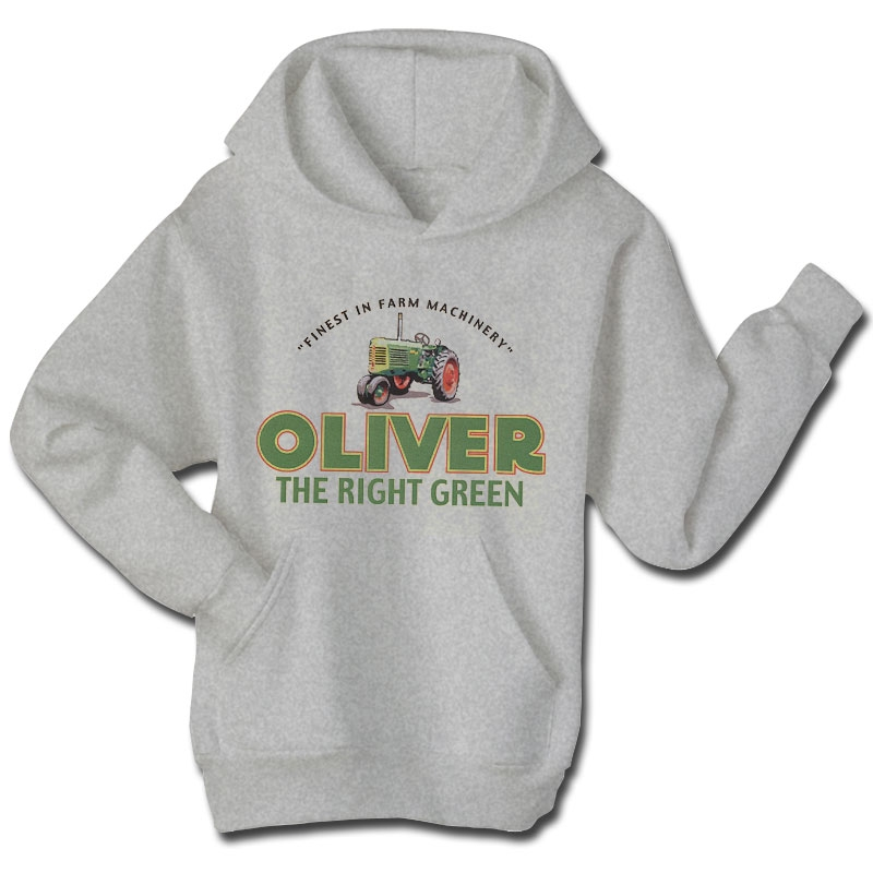 Men's Damaged Oliver The Right Green Hoodie