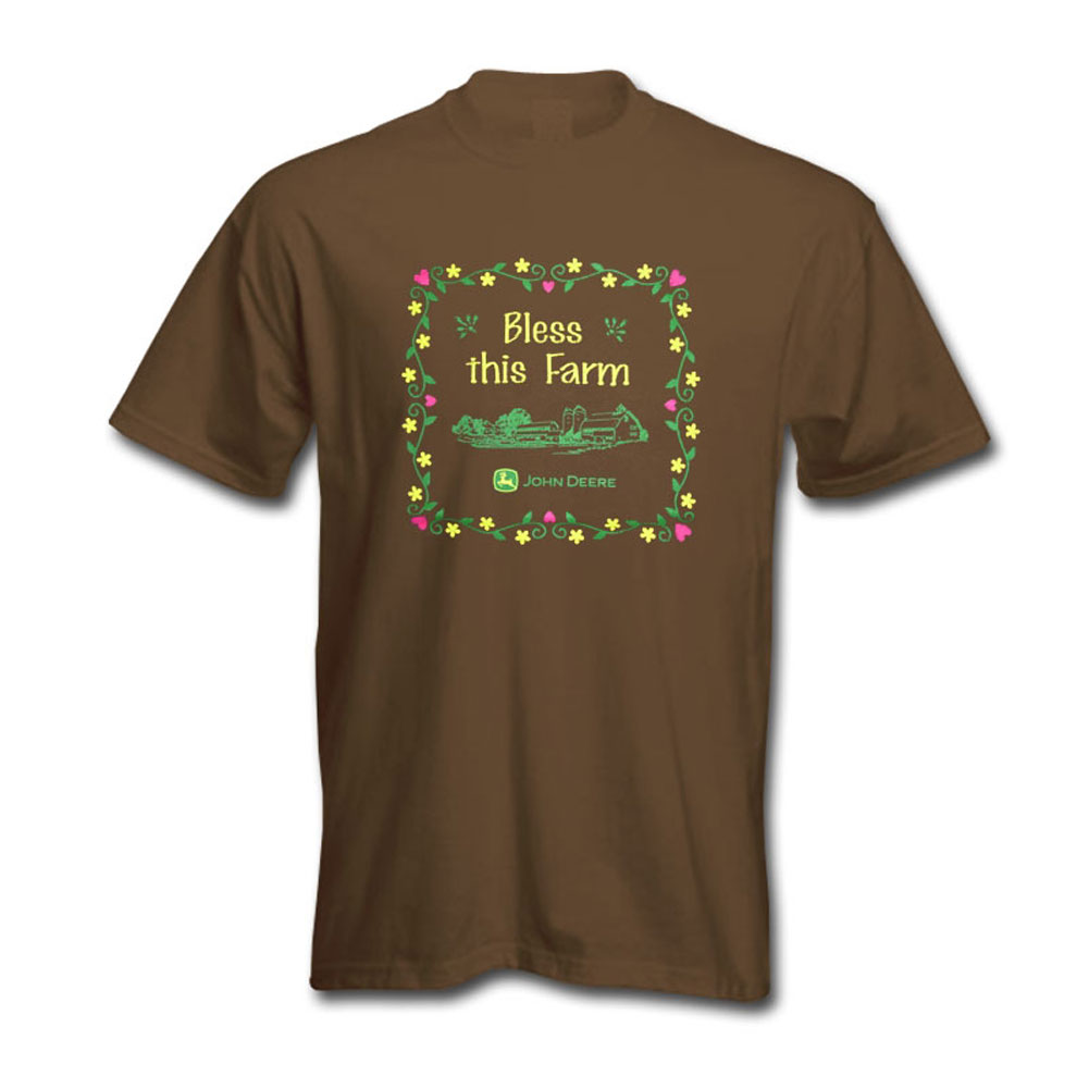 John Deere Bless This Farm T-Shirt