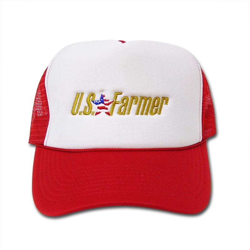 U.S. Farmer Mesh Trucker Cap
