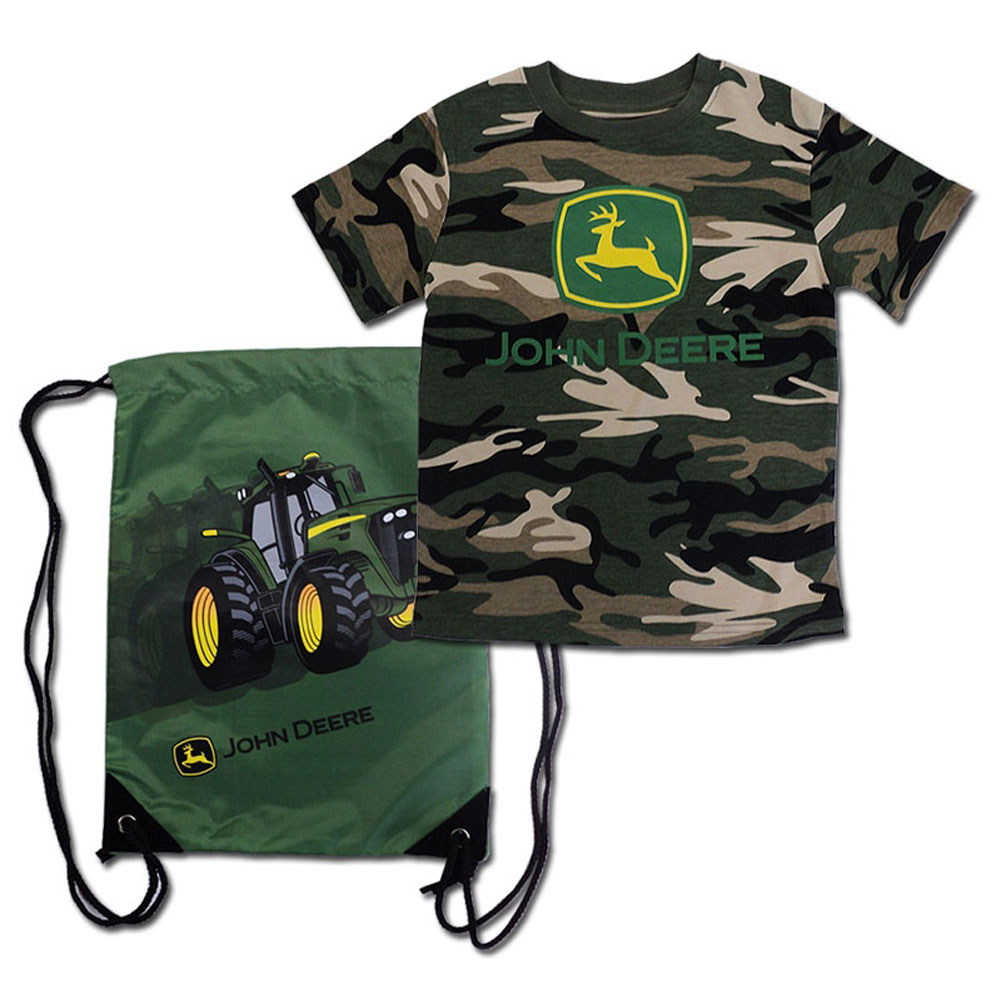 John Deere T-Shirt And Bag Set