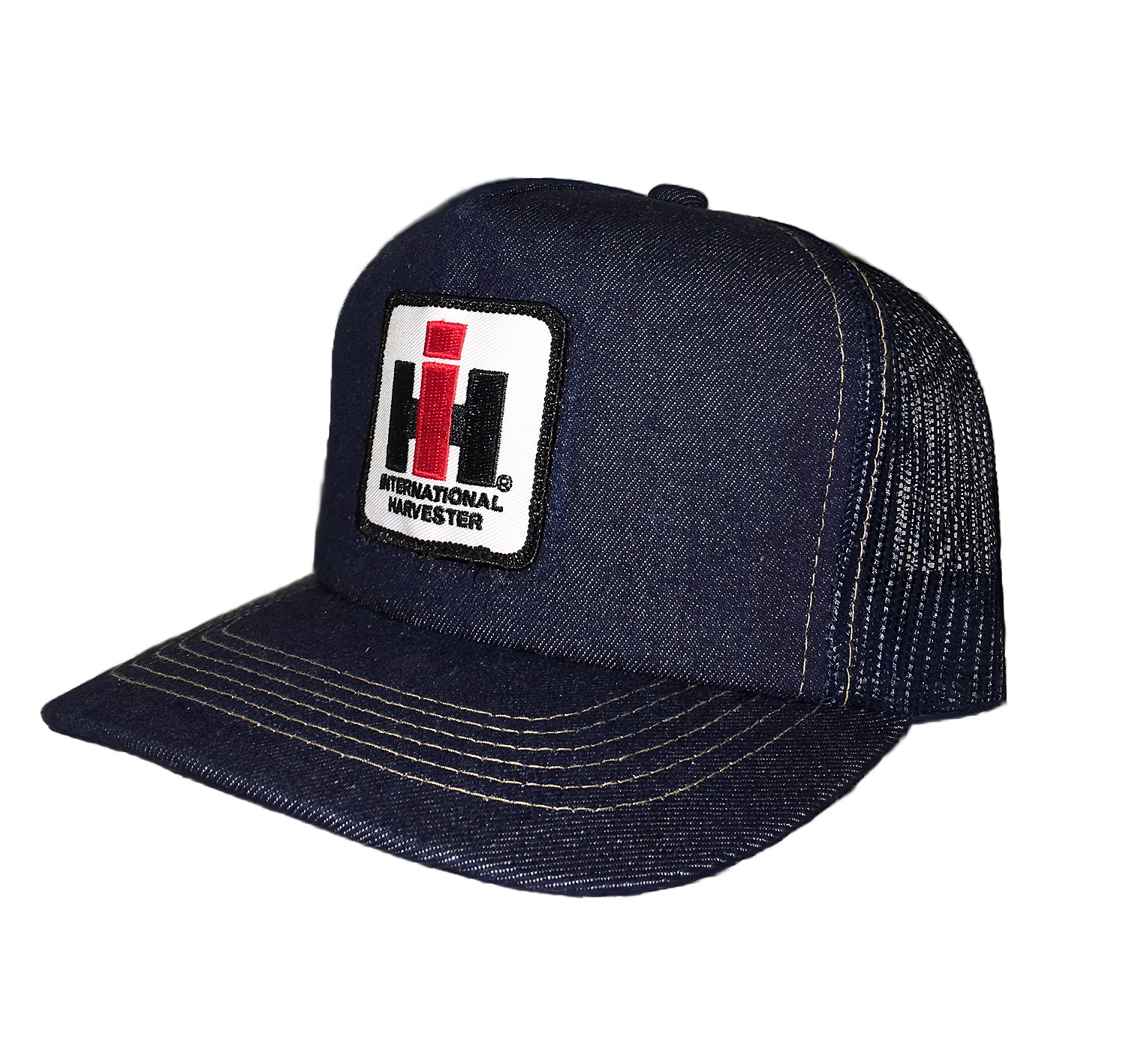 IH Mesh Trucker Cap - Denim