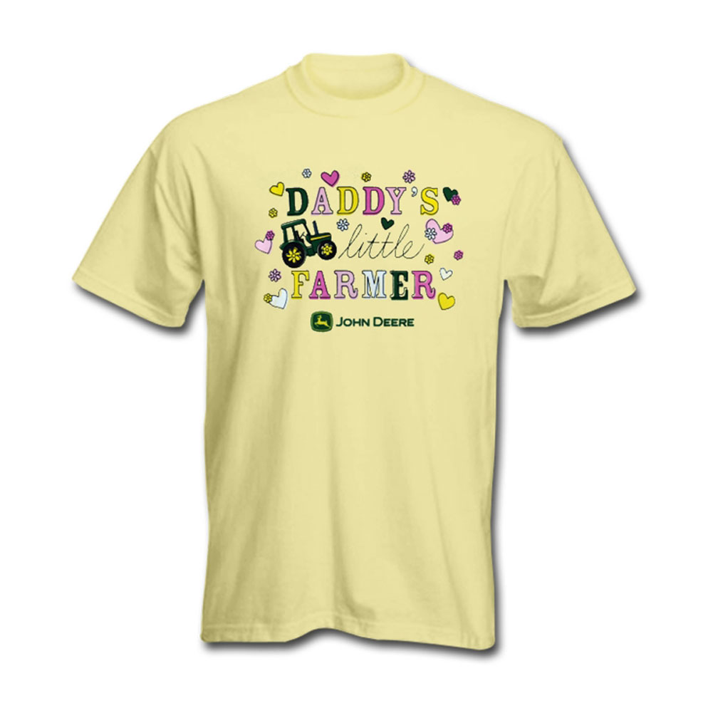 John Deere Daddys Little Farmer T-Shirt