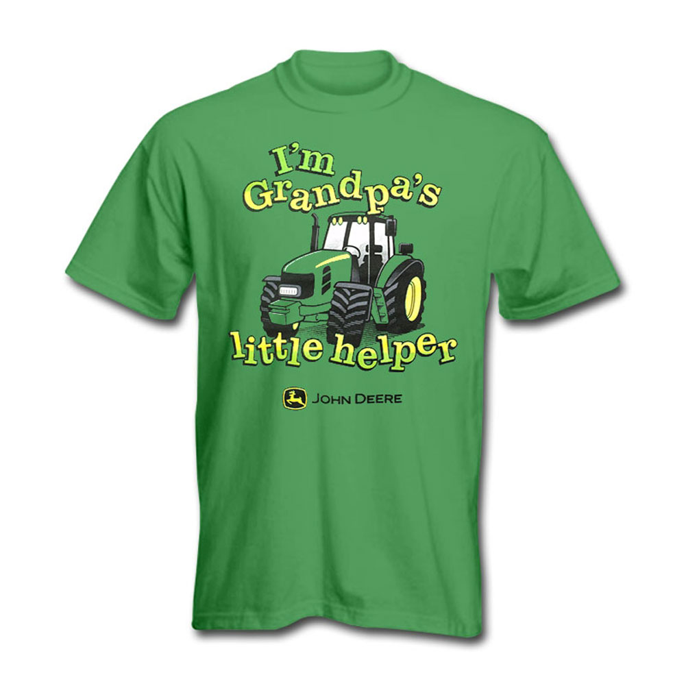 John Deere Grandpas Little Helper T-Shirt