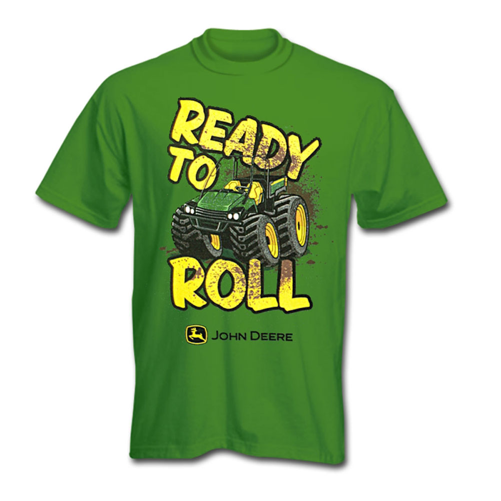 John Deere Ready To Roll T-Shirt