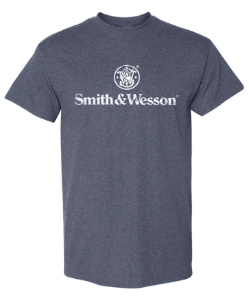 S&W Distressed Logo T-Shirt
